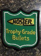 "(4534) Nosler Trophy Grade Bullets Cloth Sew On Patch NOS 2 3/4"" x 3"""