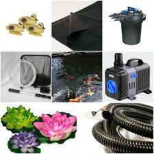 Small Pond Kit, Water Garden Pond Kit up to 1000 Gallons, 11ft x 7ft x 2ft