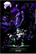 Dark Knight Blacklight Variant by Vance Kelly DC Batman Joker hcg nt Mondo Jock