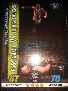 Slam Attax 10 WWE WWF OMG-Card Nr.75 Balor & Owens Sammelkarte Trading Card