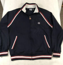 Mens Billabong Large Zip Front Track Jacket Sweatshirt