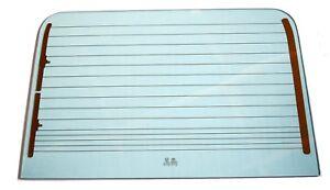 HEATED REAR SAFARI DOOR GLASS GREEN TINT for LAND ROVER DEFENDER SERIES 90 110