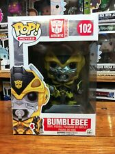 Transformers Bumblebee with Weapon Funko Pop Vinyl EXPERT PACKAGING