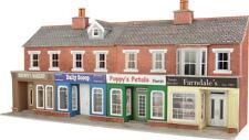 Metcalfe - PO272 - Low Relief Shop Fronts, Red Brick (OO Gauge)