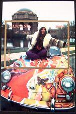 JANIS JOPLIN STAMP STAMPS 1996 MNH TANZANIA PORSCHE CAR WOODSTOCK ROCK MUSICIAN