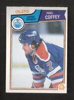 1983-84 OPC O-Pee-Chee PAUL COFFEY #25 EX+ Hockey Edmonton Oilers