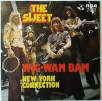 "THE SWEET⚠️Unplayed⚠️ 1972-7""- Wig-Wam Bam/New York Connec...RCA-7416209-Germany"