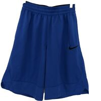 Nike Dri Fit Boys Shorts Size Small Blue Athletic Basketball