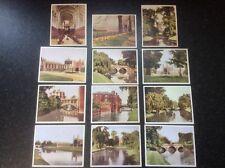 Vintage 50s Mini Set of 12 Cambridge Scenes in Colour