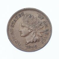 "1866 1C Indian Head Cent XF Condition, All Brown Color, Clean Bold ""LIBERTY"""