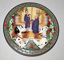 Disney One Hundred and One Dalmatians 3D Collector's Plate w/ Box & Certificate