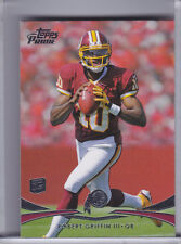 2012 TOPPS PRIME #150 ROBERT GRIFFIN III ROOKIE RC WASHINGTON REDSKINS A073