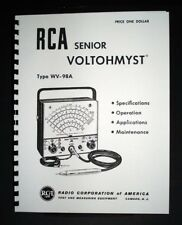 Rca Senior Voltohmyst Wv 98a Wv98a Manual