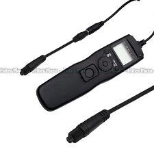 Timer Remote Shutter +2.5mm Adapter Cord for Olympus E5 E3 E30 E20 E10 E1 RM-CB1