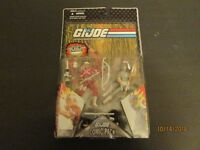 GI Joe Resolute Hard Master & Snake Eyes Comic 2 Pack MOC Hasbro 2008 FREE S/H