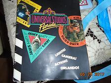 VTG Universal Studios Orlando FL Florida Book E.T. King Kong Jaws