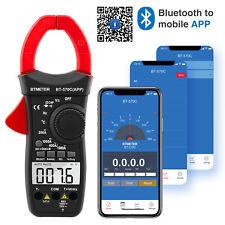 Digital Clamp Meter Multimeter Bluetooth App Ac Dc Volt Auto Range Diode Test