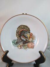 "Fitz & Floyd HARVEST Porcelain China 9"" Vegetable Dish RV9 MINT"