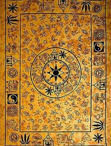 """Tapestry """"Compass"""" Purple 69 x 108 - FREE SHIPPING"""