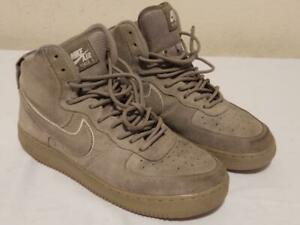 Nike Air Force 1 High LV8 Suede Atmophere Grey Size 9 AA1118-003