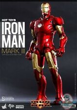 1/6 Scale Iron Man Mark III Diecast Action Figure by Hot Toys