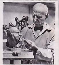 Rube Goldberg American Artist Sculptor Inventor Humorist VINTAGE 1964 press pho