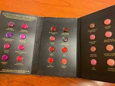 NeW Urban Decay Vice Lipstick Sample Card x1 24 Shades Finishes Limited Edition