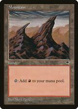 Magic MTG Tradingcard Tempest 1997 Mountain  (344)