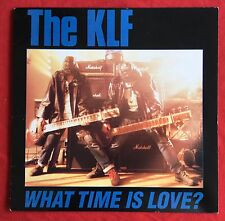 """THE KLF -America:What Time Is Love- USA 12""""/Different Mix to UK (Vinyl Record)"""