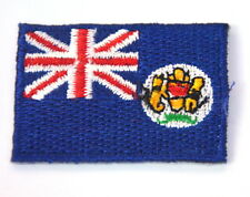 HONG KONG FLAG PRE 1997 5cm Embroidered Sew Iron On Cloth Patch Badge APPLIQUE