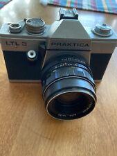 Vintage Praktica LTL-3 SLR 35mm Film Camera w/50mm f/1.8 Pentacon Lens