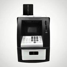Digital Electric Piggy Bank ATM Cash Machine Coin Notes Money Saving Box UK