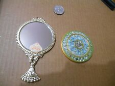 Vintage Pair Of Hand Mirrors