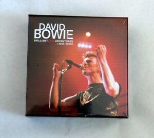 DAVID BOWIE - BRILLIANT LIVE ADVENTURES 1995 1999 CD EMPTY BOX SEALED