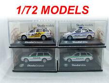 Skoda Fabia & Octavia Kombi Wagon Police 1/72 1 72 CARARAMA HONGWELL ABREX