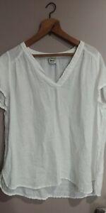 La Bottega Di Brunella OS Linen Shirt