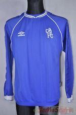 Frank Lebœuf #5 Chelsea London 1999-2001 home Football Shirt Long Sleeve, Size M