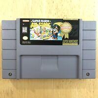 Super Mario All Stars Nintendo SNES Authentic Cartridge Tested Clean Label