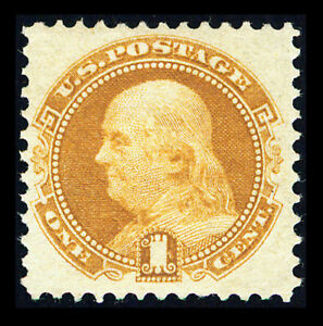 US #112; 1¢ PICTORIAL ISSUE, VF/XF-OG-LH, PF CERTIFICATE, CV $575