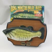 Big Mouth Billy Bass The Singing Fish Sensation Gemmy 1998 in the Box Vintage