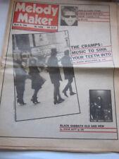 Melody Maker March 1980 Cramps Black Sabbath Yugoslavian punk bands
