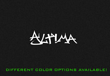 Altima Nissan Nismo Graffiti Vinyl Decal Sticker ALTIMA 7""
