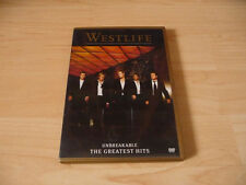 DVD Westlife - Unbreakable - The Greatest Hits - 16 Videos - 2002