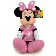"Disney Minnie Mouse Classic Pink Cute Dress Plush Kids Stuffed Toy 25"" Jumbo"