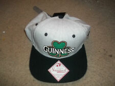 Guinness  Beer   snapback Baseball Mens Hat fitted New ADJ black brim