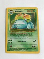 Venusaur 15/102 Base Set Holo HP Pokemon Card 100000258