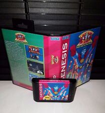 Captain Planet & The Planeteers Video Game for Sega Genesis! Cart & Box