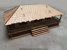 Colonial House 28mm Laser cut MDF Buildings G088