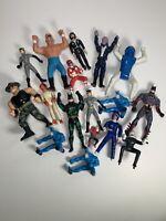 Mixed Vintage Action Figure Lot Wrestling WCW Batman Racing Power Ranger