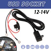 Waterproof Motorbike Motorcycle USB Charger Mobile Power Socket Adapter 24V/12V.